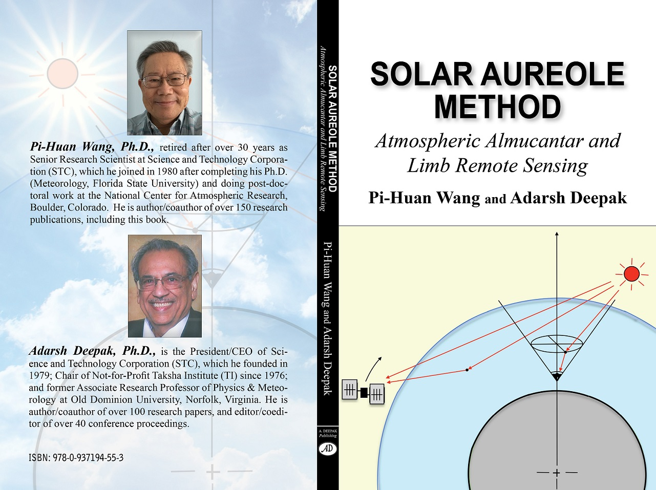 Solar Aureole Method - Atmospheric  Almucantar and Limb Remote S