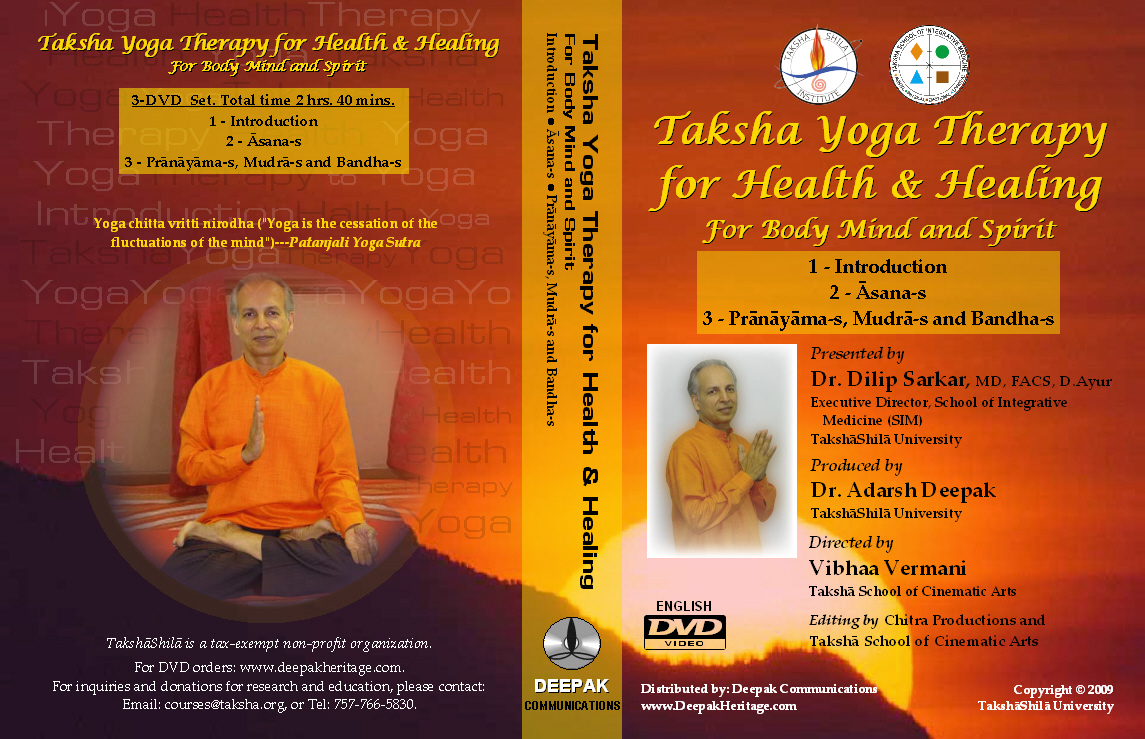 Taksha Yoga Therapy for Health & Healing